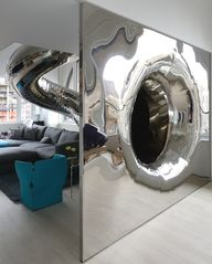 Playful Indoor Slide