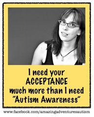 #AutismAcceptance th
