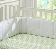 Chevron Stripe Crib Fitted Sheet PB Kids $19