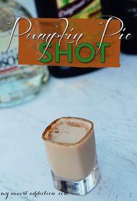 Pumpkin Pie Shot - M