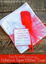 Teacher Gift Idea: D