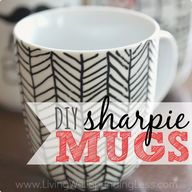 DIY Sharpie Mugs Squ
