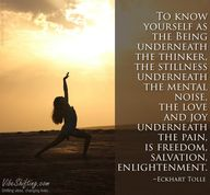 Eckhart Tolle #quote