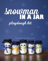 Snowman in a Jar Pla