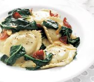 Ravioli With Spinach...