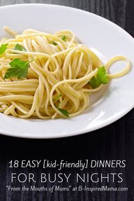 18 Kid-Friendly Easy