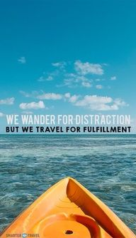So true! We wander f