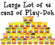 large lot of play do