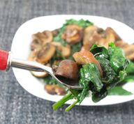 Sautéed Spinach and