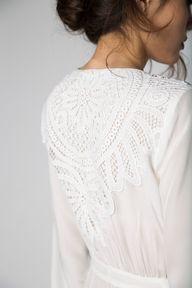 helena robe | Stone