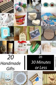 20 Handmade Gifts in