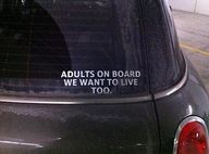 Adults on board - we