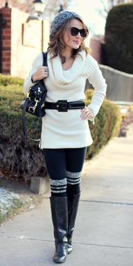 Stylish Winter Knit.