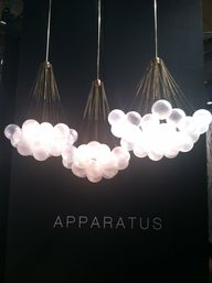 Cloud light fixtures