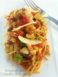 Spaghetti alla Cavol