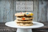 Monster Cookies from