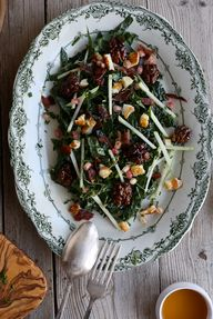 Kale Salad with Hall