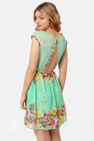 Pretty Mint Dress -