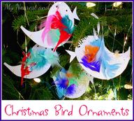 Christmas Bird Ornam