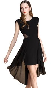 Black Sleeveless Con