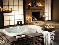 Bathtub Fireplaces: