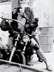 Love & motorcycles.