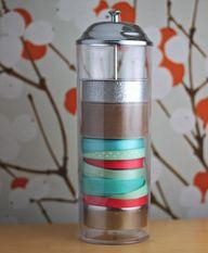 ribbon storage trick