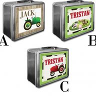 Tractor Lunchboxes