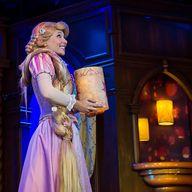 Rapunzel's floating...