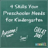 4 Skills your Presch