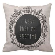 I read past my bedti