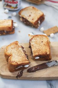 Melted grilled s'mor