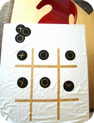Make a tic tac toe t