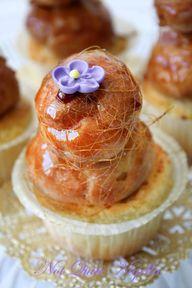Croquembouche cupcak