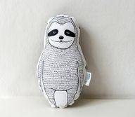Plush Sloth Pillow i