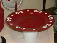 Upcycled  Red Swirl