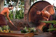 Maui luaus are a cha