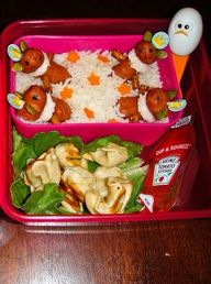 Fun lunchbox ideas f