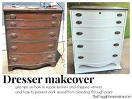 Dresser makeover - h