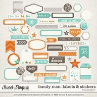 Family Man: Labels &