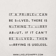 If a problem can be...
