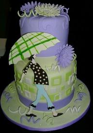 Mod Mom Cake