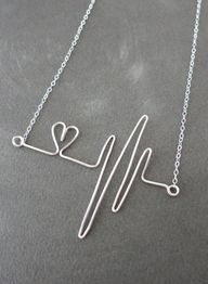 Heartbeat Necklace S