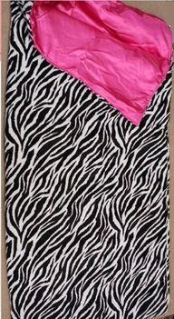 Zebra and Hot Pink S