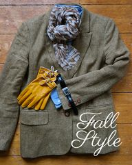 Classic fall fashion
