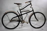 Un vélo très très or