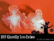 Ghost Ice Cubes Dog