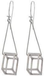 Cube Drop Earrings b