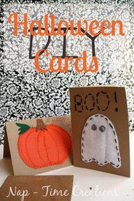 DIY Halloween Cards