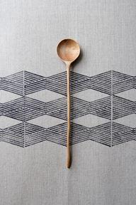 cuillère bois + patt